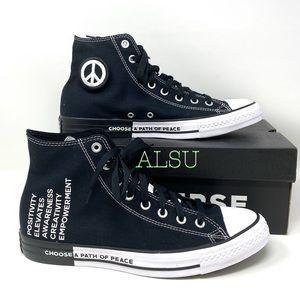Converse Ctas High Top Canvas Black Men's Sneakers